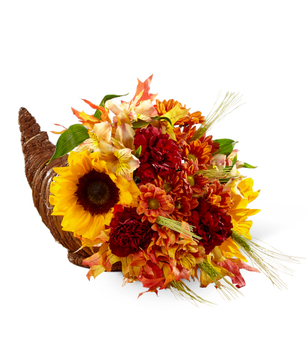 FTD® Fall Harvest™ Cornucopia by Better Homes and Gardens®