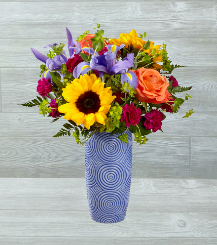 Shop and send easter flower arrangements online openblooms ftd touch of spring bouquet mightylinksfo