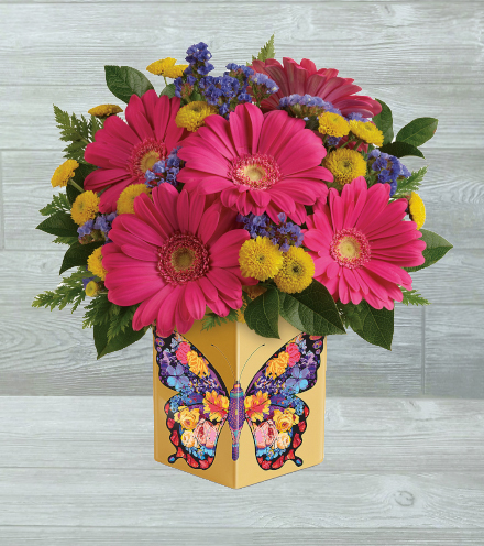 Wings Of Thanks Bouquet