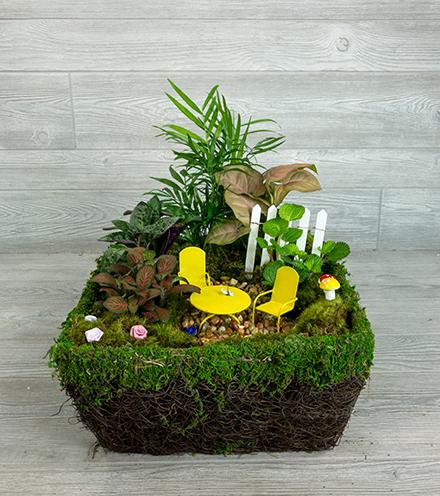 Enchanted Moss Garden - Troll Size