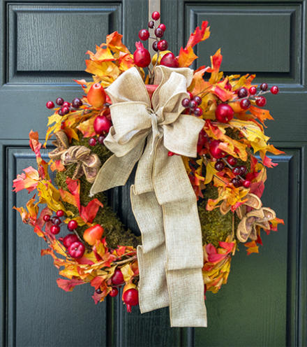 Solo D'Autunno Wreath