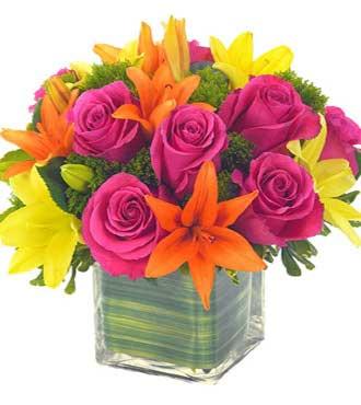 Lovely Lily & Rose Celebration Bouquet - Greatest