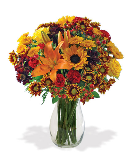 European Autumn Harvest Bouquet