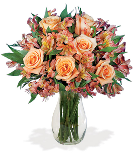 Blazing Bonfire Bouquet