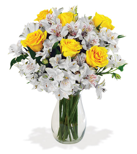 Cheerful Lemon Drops Bouquet
