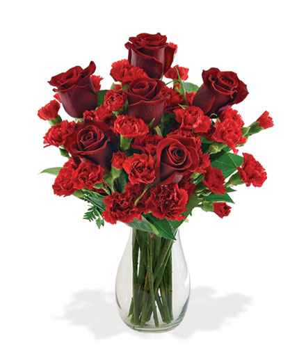 Stunning Red Bouquet From  $85