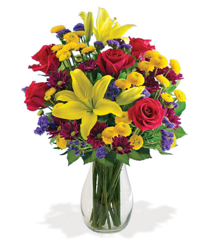 Radiant Charms Bouquet Flower Delivery