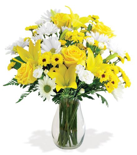 Delightful Sunshine Bouquet Flower Delivery 1