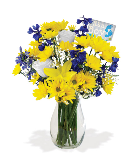 It's A Boy Bouquet Flower Delivery