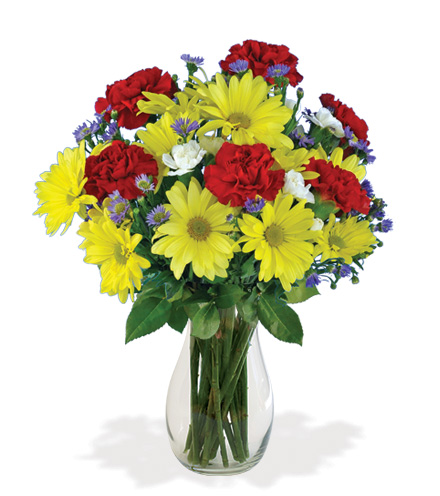 Cheerful Greetings Bouquet Flower Delivery
