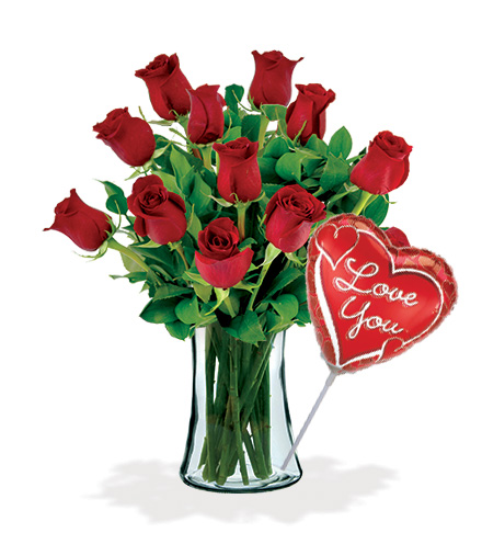 12 Red Roses Special Flower Delivery