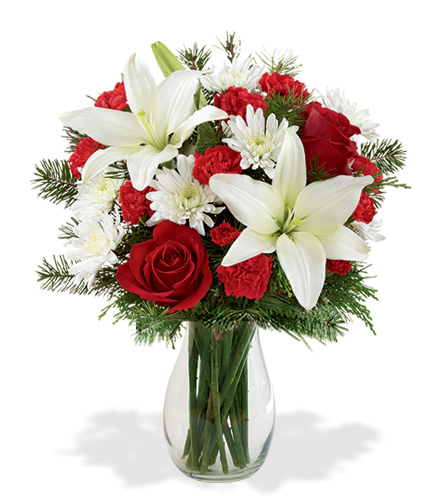 Holiday Greetings Flower Delivery