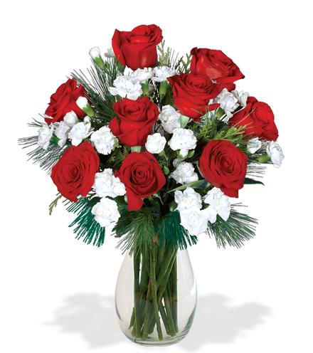 Santa's Sleigh Bells Bouquet Flower Delivery